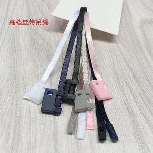 cinta cuerda 500PCS alto grado de cuerdas de bloqueo de sellado para la ropa etiqueta colgante de cadena de ropa hebilla ijZI # stock / honda / TAG / cuerda a mano /