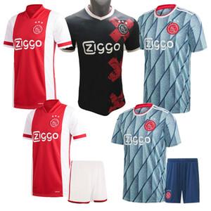 20 21 ajax Jersey ev uzakta 3 DE ligt 2020 2021soccer forması VAN DE BEEK NERES TADIC Dolberg ZIYEC futbol üniforma Gömlek erkekler çocuklar kiti