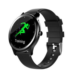 Inteligente multi-monitor de línea elegante reloj G28 del ritmo cardíaco reloj deportivo a prueba de agua IP68 pulsera completa de la pantalla táctil del reloj