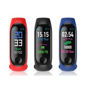 M3 Akıllı Watch Bilezik SLEEPTRACKER Adım Sayıcı Nabız Tansiyon Tüm insanlar için Sağlık Egzersiz Tracker m3 Spor Bileklikler Bandı