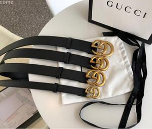 YENİ Kemer Tasarımcı Kemerler Erkek Kemerler Belt Gucci Lüks Kemer Deri İş Kayışlar Kutusu Bayan Büyük Altın G Toka