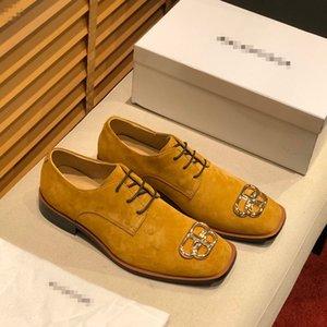 Designer Flat casual men shoes Authentic cowhide Metal buckle luxury velvet women Dress shoes leather Trample Lazy boat shoes size 38-45