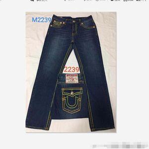 Yap Yüksek Kaliteli YENİ sıcak Erkek Robin Rock Revival Jeans Kristal Studs Denim Pantolon Tasarımcı Pantolon Erkek büyüklüğü 30-40 2239