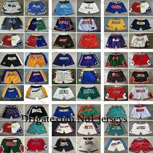2020 autêntico costuradonbaMens Shorts Hip-hop costurado All City nome da equipe Ano Id Tag Apenas Don bolso Basketball Shorts TOP