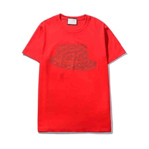 Mens T shirts Summer Tops Tee High Quality Cap Bead Short Sleeve Shirt for Men Wholesale S-2XL