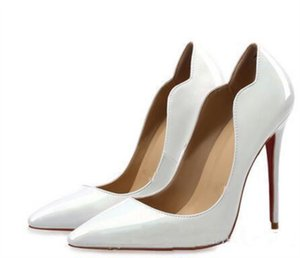 2020 NEW lWomen Shoes Red Bottom High Heels Sexy Pumps Shoes For Women Patent Leather Pointed Toe High Heels Wedding Shoes