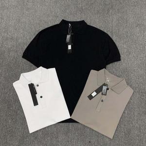 Polo Sport Stones T-shirt da uomo maniche corte merci Felpe casuale Isola Polo carico degli uomini Binsines Top Estate inferiore