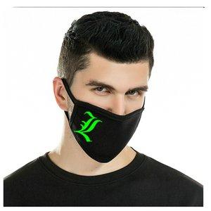 Glow maschere Skull Glow In The Dark neoprene maschera protezione mezza Skull Glow progettista all'ingrosso lystore2010 Mens Cheaply fmtXk
