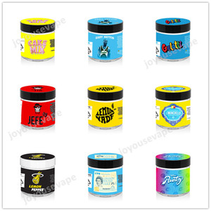 60ml 3.5G plastique Cali Jars avec 10 types de cookies Cakemix Gelati Jefe Limonade rose Runtz