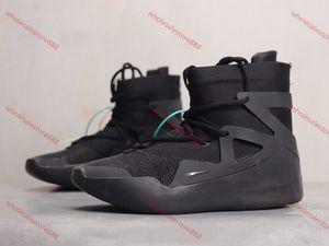 xshfbcl hotsale Fear of God 1 Boots progettista shoes Triple Black Orange High Ankle Sport Shoes Sneaker mens winter boots Skateboard Shoes