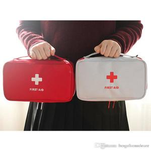 Caso Resgate de viagem portátil vazio First Aid Bag Kit Criativo Pouch Home Office Emergência Médica saco médico saco de armazenamento BH0015