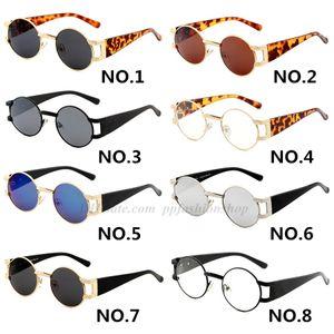 Vidrios de la manera Wild Metal gafas retro de lujo gafas de sol Hombres Mujeres Marca Lentes de sol protección UV con la caja original