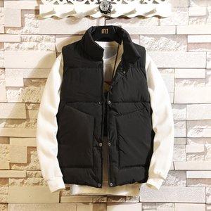 2020 New Spring Autumn Sleeveless Jacket for Men Fashion Warm Male Winter Vest Light Plus Size Mens Work Vests Waistcoat