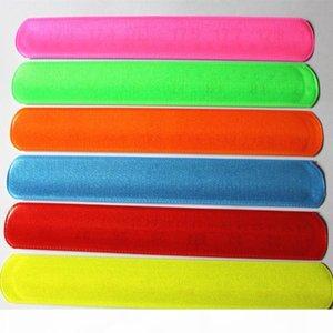 I 100pcs New Fashion Assorted Colors Magic Ruler Slap Band Bracelets R150719 Mx190727