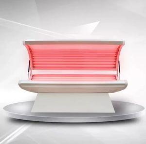 Colágeno Terapia Máquina da Luz Vermelha /-envelhecimento formiga / Beleza cuidado da pele Equipment PDT cama Infrared Red Light Therapy Led cama para salão de beleza