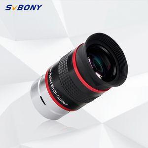 """SVBONY Eyepiece FMC 1.25"""" 68 Derece Ultra Geniş Açı 6mm 9mm 15m 20mm Astronomik Teleskop Monoküler Vizör F9152A T191022 için"""