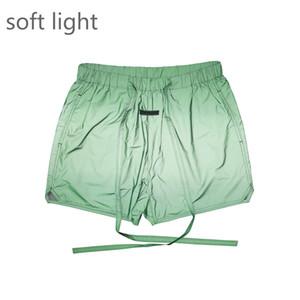 Meilleur nylon vert Short doublé en filet Shorts Streetwear piste