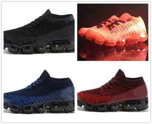 Nike Air Max Vapormax ShoesYu Kube echtes Leder Loafers Schuhe 2019 beiläufige Kristall Strass Frau Flats Turnschuhe Damen Driving Schuhe zapatos de mujer