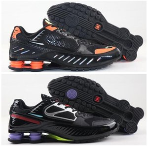 2020 Top SHOX ENIGMA Ultra Men Black Blue Grey running shoes Outdoor Maxes Walking Sport Shoes Mens EUR 40--46
