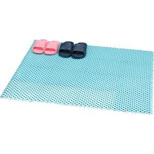 Spliced Non-Slip Bath Mat,Slip-Resistant Shower Mats,Bathroom Toilet Kitchen Swimming Pool Waterproof Drain Anti Skid Mat Hollow Out Rugs