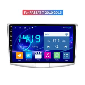 O mais novo Tela Unidade 9 Android 4GB + 64GB Car GPS Navigation Para VW PASSAT B7 2010-2015 Car Radio Unit cabeça