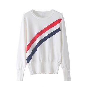 712 Freies Verschiffen 2020 Marke gleiche Art Regular Langarm Kint Pullover Weiß Pullover mit Rundhalsausschnitt Top Pullover DL