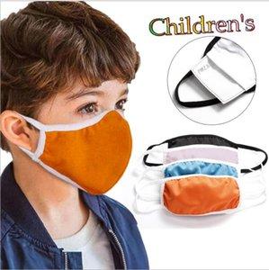 Çocuk Maskesi Katı Yüz Filtre LSK568 olmadan Yıkanabilir Yeniden kullanılabilir Karşıtı Sis Ağız Maskesi Karikatür Ağız Kapak Pamuk Anti Toz Koruyucu Maskeler Maske
