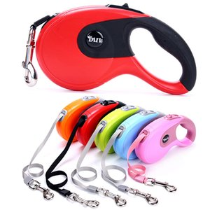 3M Portable Retractable Dog Leash Dog Cat Walk Lead Leashes Rope Pet Supplies free shipping VIA DHL
