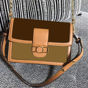 Borsa a tracolla borse Portafogli da donna 3A di lusso progettista del cuoio genuino con Houndstooth tessuto Cross-corpo della sella della borsa di alta qualità