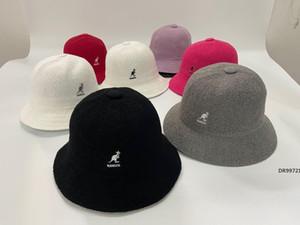diseñador de los hombres de canguro kangol toalla de tela pescador sombrero del casquillo del pote buena qualityDR99721