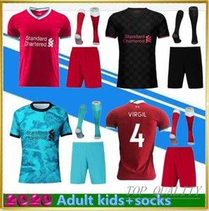 New 20/21 Fußball-Trikot für Erwachsene Kinder-Kits 2020 2021 zu Hause weg Uniformen Kind-Fußballhemd Set