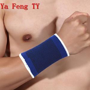 Sportschutz Protective Armbandes Handschlaufe Armband gestrickt kompressionselastische Armband 309 Paare Blau