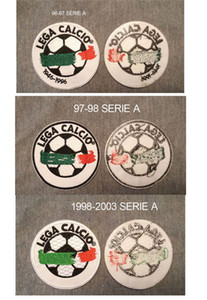 96-97 Lega Calcio Patch 97-98 1998-2003 Serie A Toppa Lega Italy League Lega Calcio Badge