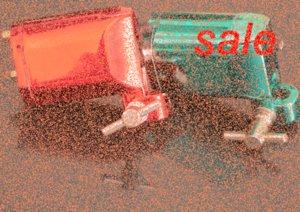 2pcs Haut Rouge Vert moteur rotatif Tattoo Shader Liner Machine Gun Pro Tattoo Machine Gun Equipment Livraison gratuite gXz1 #