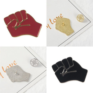 Bag Hat Clothes Lapel Brooches Propose Unite Fist Pin Metals Brooch Shirt Accessories Exquisite And Durable 1 68zb E2