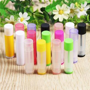 Renk Ruj Tüp Diy Chapstick Dudak konteynerleri Plastik Borular Sağlam Hijyen Taşınabilir Kozmetik 67X16.6mm 0 23kl D2 boşaltın