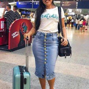 Neue Frauen-Jeans-Rock-Dame Zipper Tassel reizvoller dünner Rock New Fashion Fringe Damenbekleidung Qualitäts-Jean Für Sexy