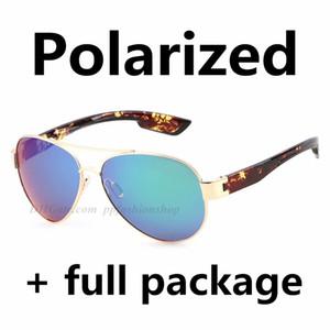 2020 새로운 비행 편광 디자이너 선글라스 바다 낚시 고품질 안경 레오파드 패션 트렌드 사이클링 아이웨어