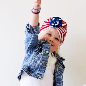 أمريكا عيد الاستقلال طفل الوطنية الأطفال اليوم السترة ملابس الأطفال تي شيرت قبعة الزخرفية الطفل الكرة قبعة احتفال