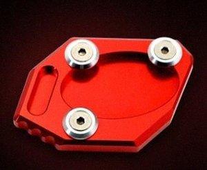 Banc de moto Side Plate support approprié pour la 300NINJA250Z250ER 6NER 6F Red n4Wp #