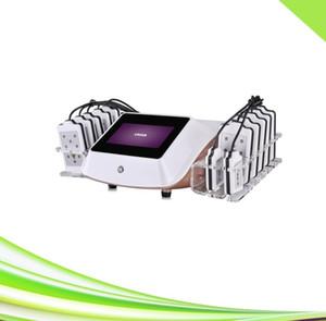 14 pads non invasive zerona cold lipo laser slimming lipolaser machine for salon clinic spa