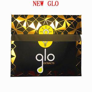 Nuovi cartuccia vapes GLO Estratti Packaging GLO carri vuoti ceramica Coil 0.8ml 1 ml in vetro 510 Thick olio Dab vaporizzatore 10 colori in azione