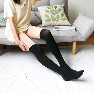 cuisse été faux-dessus le pantalon couture base girlstyle épais genou pantalons et chaussettes et chaussettes hautes