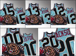 hommes MemphisGrizzliesJa Morant Jaren Jackson Jr. Brandon Clarke Josh Jackson Big Face HWCJersey NBA Noir personnalisé