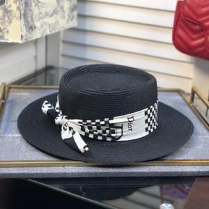 Summer Trendy Women Lafite Straw Hats Fashion Bow Knot Ornament Lady Wide Brim Hat Travel Personality Charm Girl Sun Hat BB174