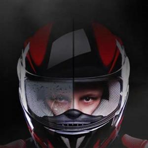 Yeni Anti-Fog Kask Evrensel Lens Film İçin Motosiklet Visor Kalkanı Sis Dirençli Moto Yarışı Aksesuarları qiang