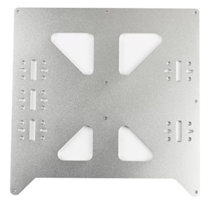 Aluminum Y Carriage Plate Upgrade for Prusa i3 V2 3D Printer, 3   4 Linear Bearing Configuration