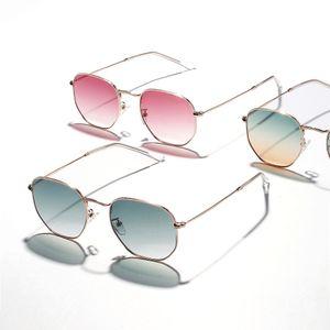 Fasion accesorios para mujer de color mixto polarizado gafas de sol UV380 gafas de sol de las gafas de sol de diseño acrílico verdes 2 piezas de vidrios de las mujeres