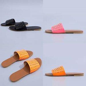 Casual Sandalet Soft On 2020Slippers Leater Slaytlar Şık KİT'ler Yaz Beac Sandalet Kayma # 848 Flop'lar Bayanlar ayakkabı Bayan Dener Slipper çevirin