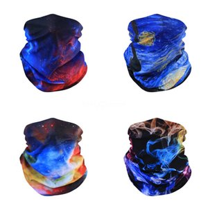 Halloween Masks Men Outdoor Accessories Riding Woman Bicycle Magic Scarf Seamless Head Scarf Multi Function Headband Party #641#700